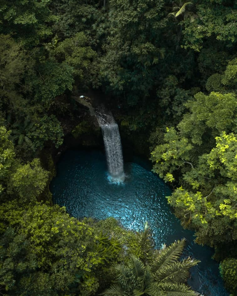 Tibumana-waterfall-Bali-drone-best-photography-locations